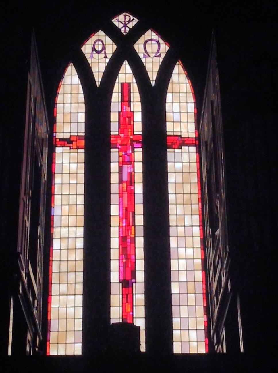 restored stained glass windows