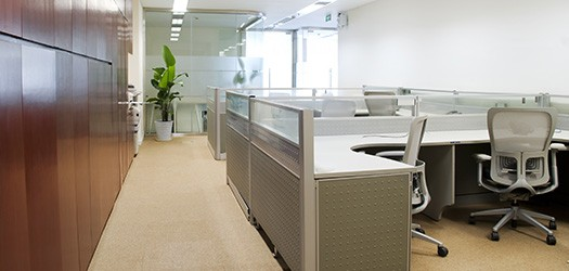 interior view of office