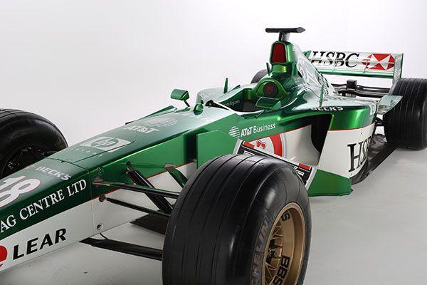 Formula 1 Jaguar Delivered to You