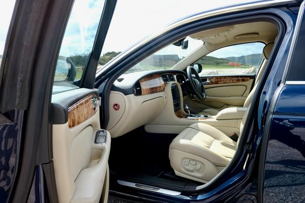 Jaguar XJ Servicing in Llandudno