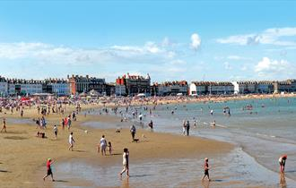 Weymouth award winning beach