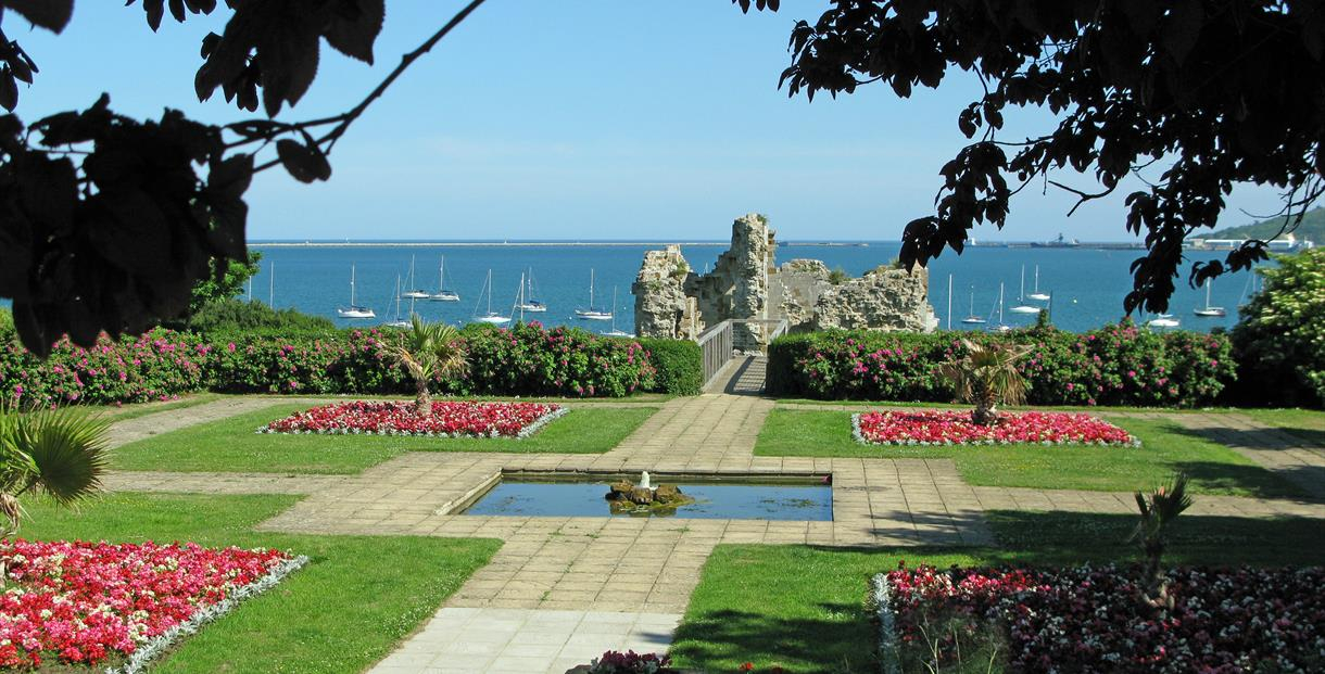 Sandsfoot Castle and the Rodwell Trail