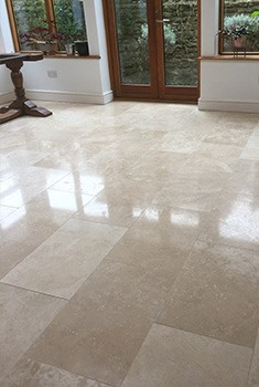 limestone floor restoration and polishing