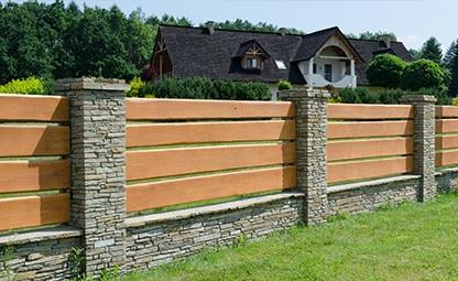 garden fence boundary wall