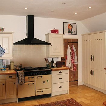 renovated country style kitchen