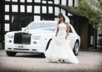 Rolls Royce Phantom and our Bentley