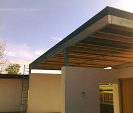 GRP Flat Roof, Fibreglass Newport, custom trim.