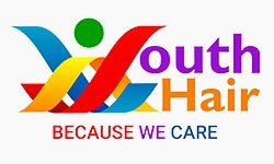 logo of youth hair charity