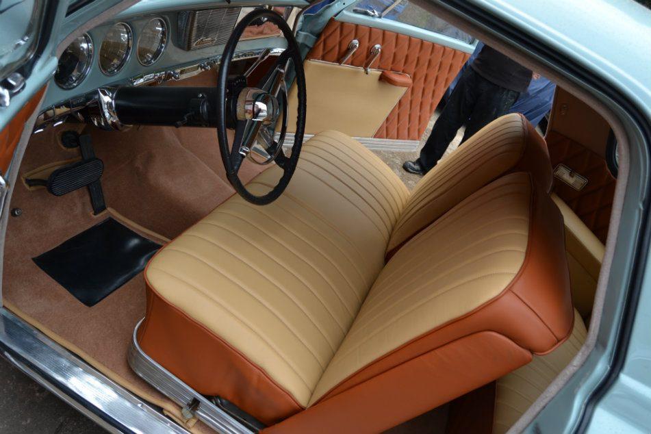 1950 Studebaker Full Tan Leather Re-trim