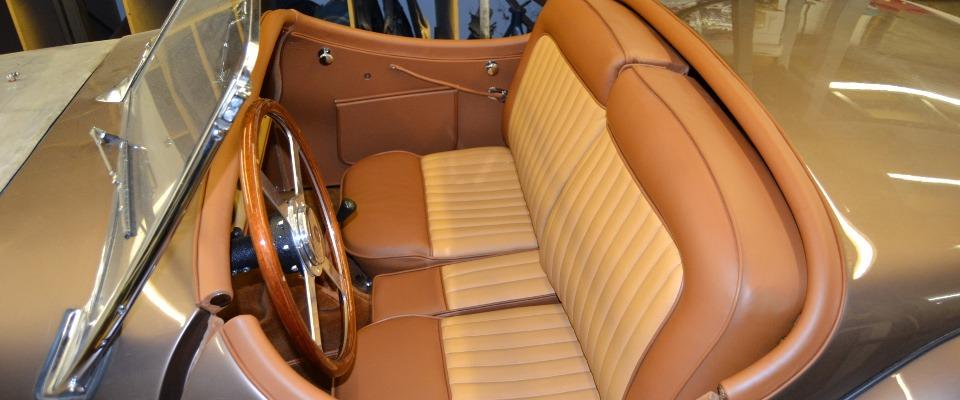 Jaguar Brown Leather Interior