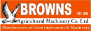 Browns Agricultural Machinery logo