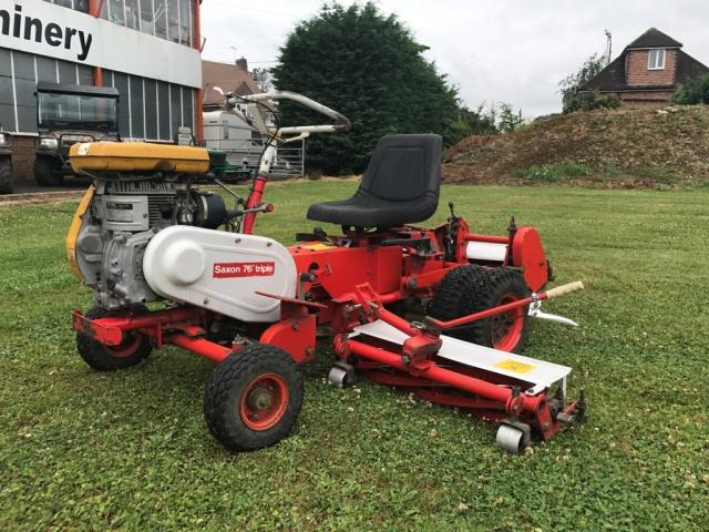 Saxon Triple Mower