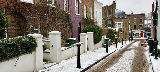 gritting residential areas