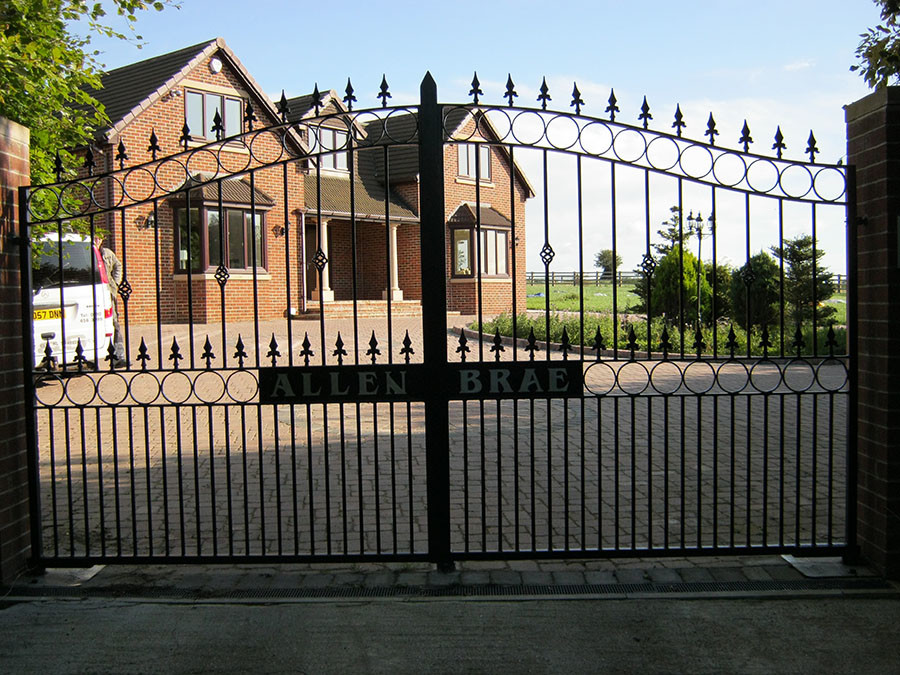 Domestic security gates