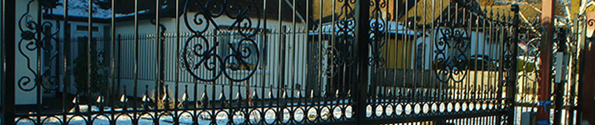 Wrought Iron Gates in Newcastle