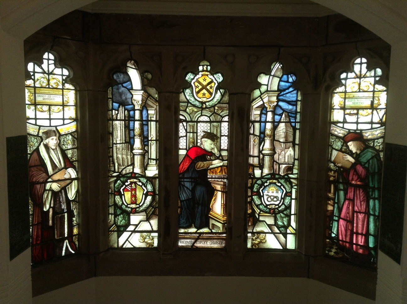 restoring church stained glass