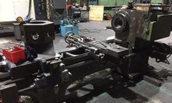 stripped down cnc machine