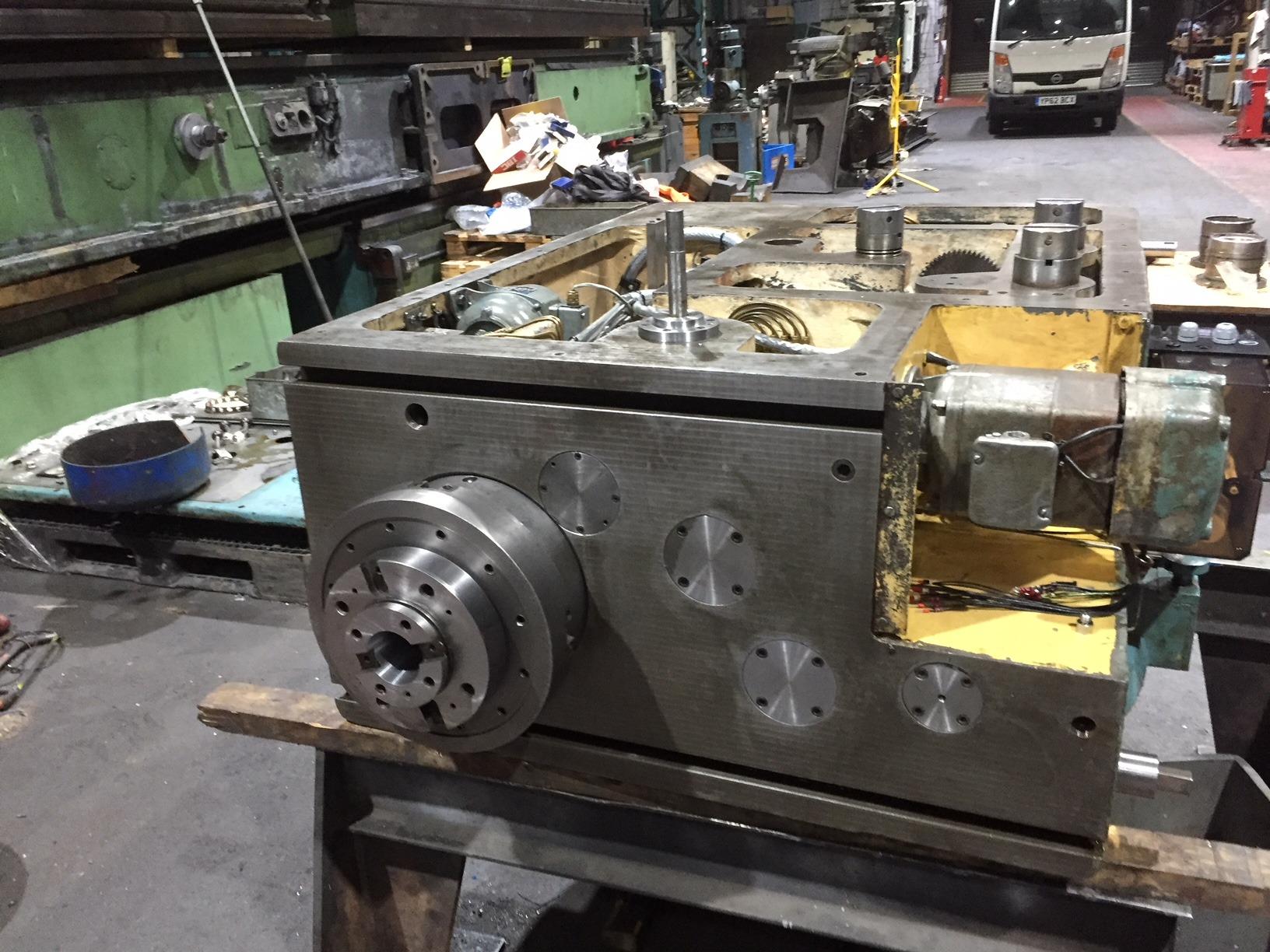 repairing a milling machine