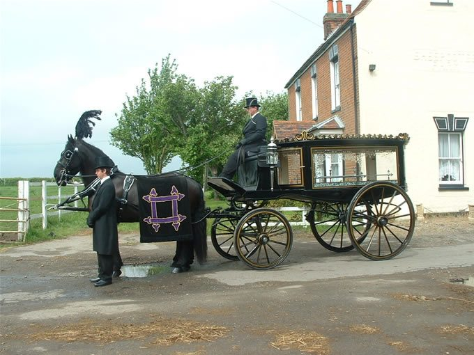 Horse Drawn Funerals Hockley, Essex and London