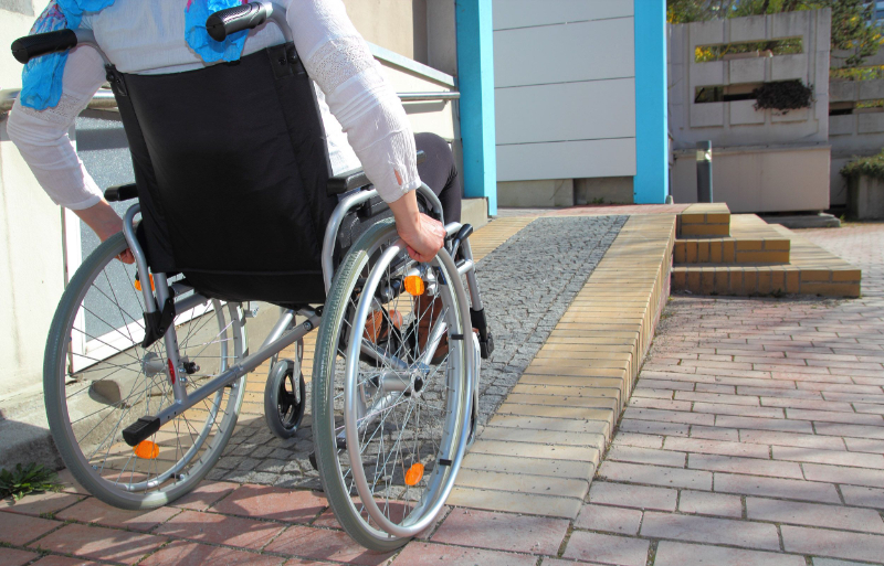 How do I make buildings more accessible for disabled?