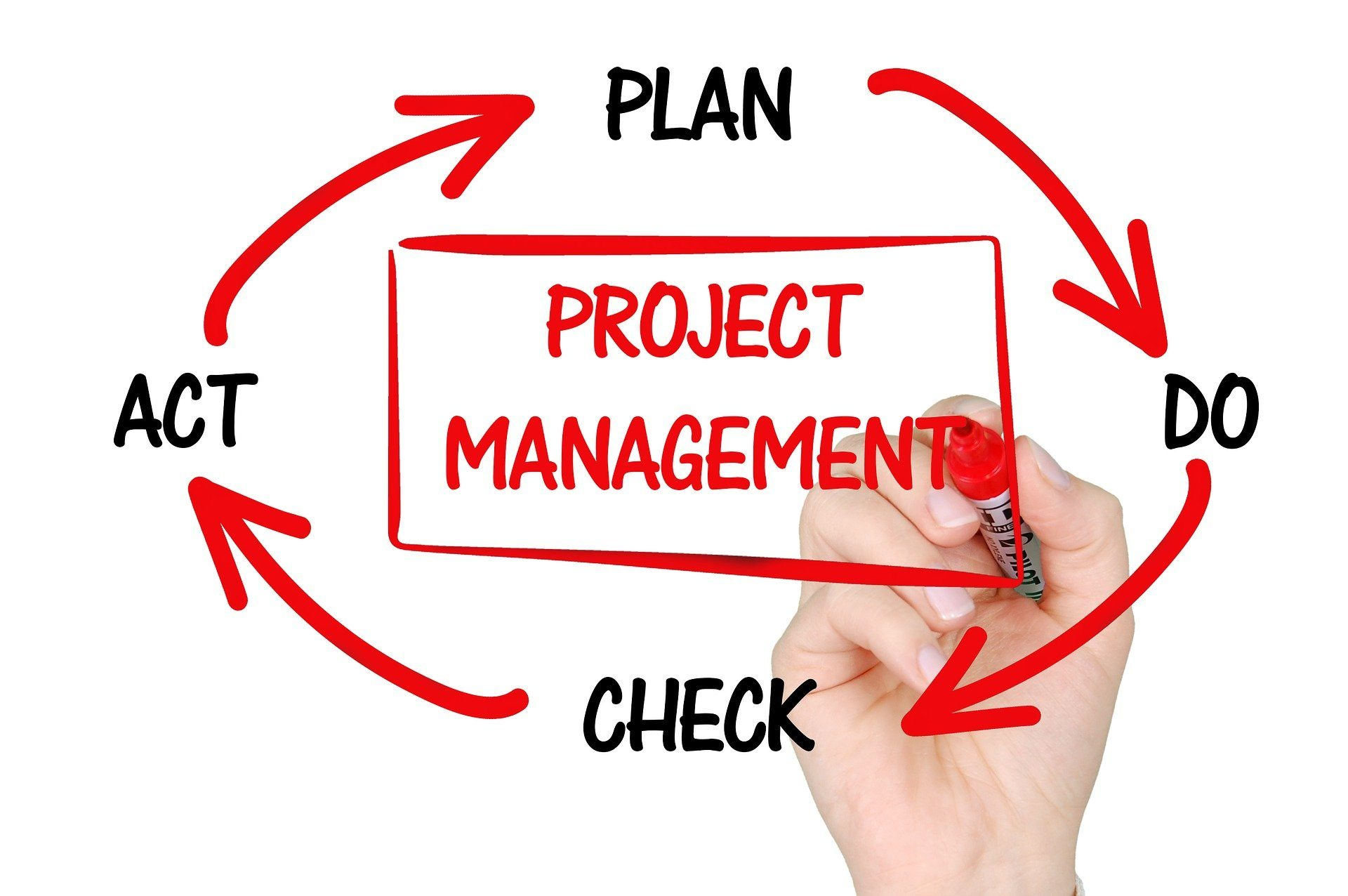 What is the job of a project manager