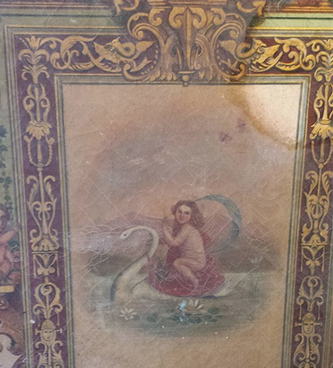 What is the Average Cost to Clean an Oil Painting? - test clean on french oil painting