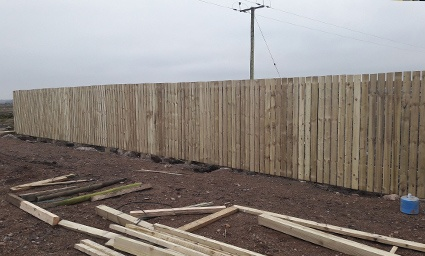 timber agricultural fence