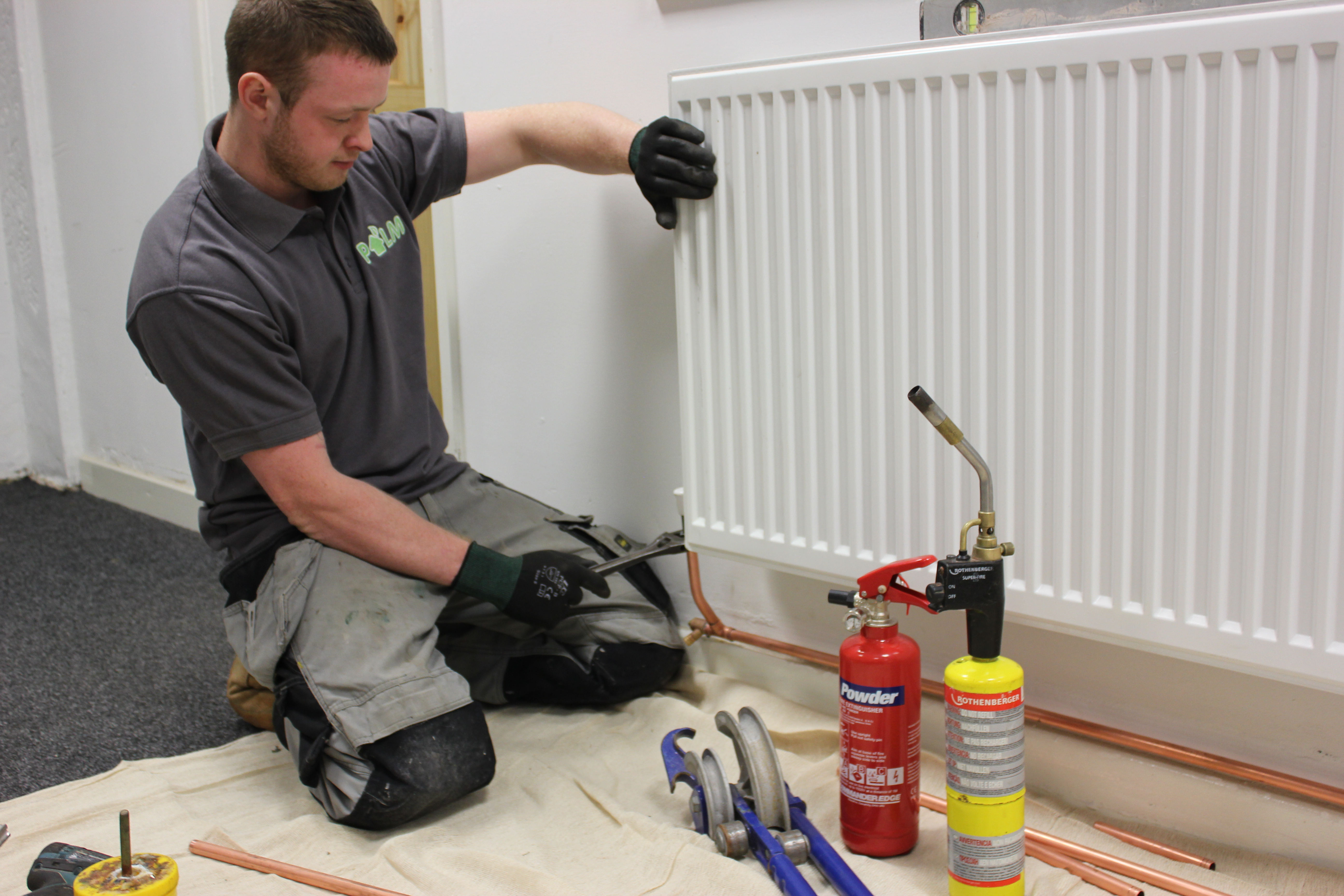 Full Central Heating Installation : Palm Yorkshire