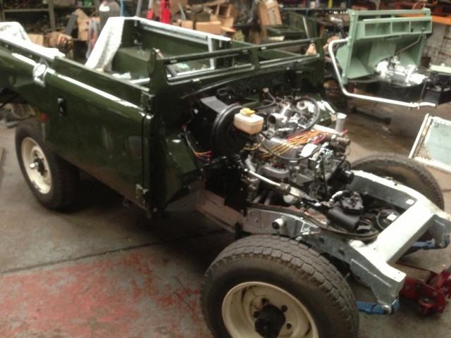 1961 Land Rover Series 2a SWB