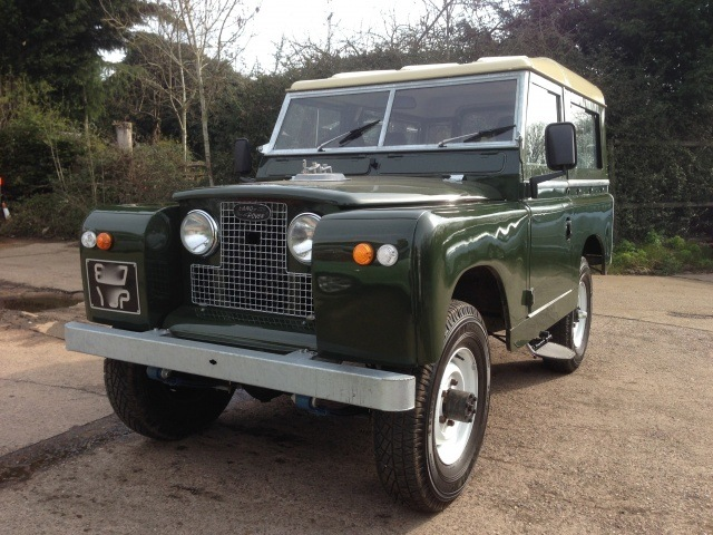 Restored 1961 Land Rover Series 2a SWB