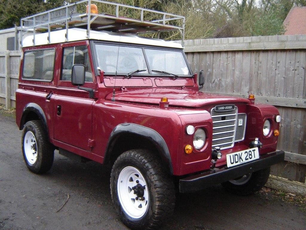 1978 Series 3 resprayed Metallic Red