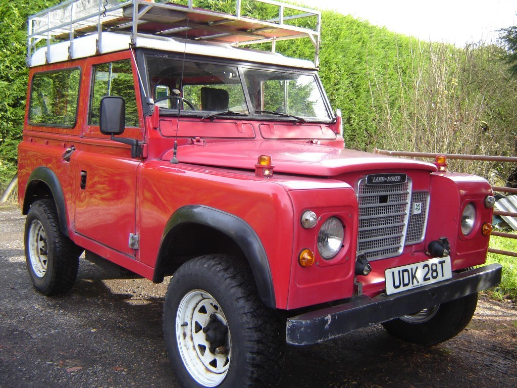 1978 Series 3 with dull red paintwork