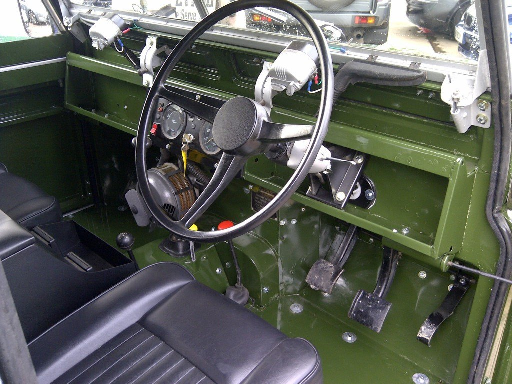 Land Rover Restorations In Coventry