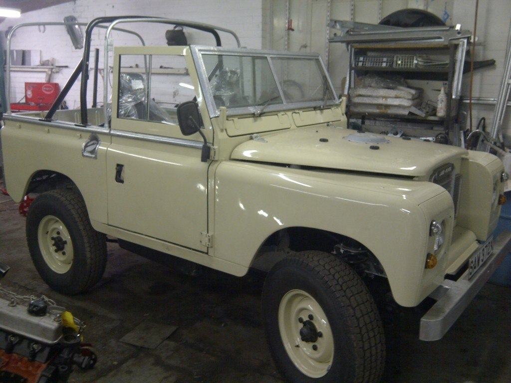 Land Rover Rebuilds in Worcester