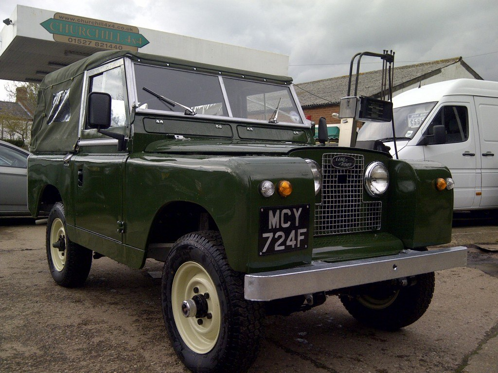 1967 LAND ROVER SERIES 2A RESTORATION