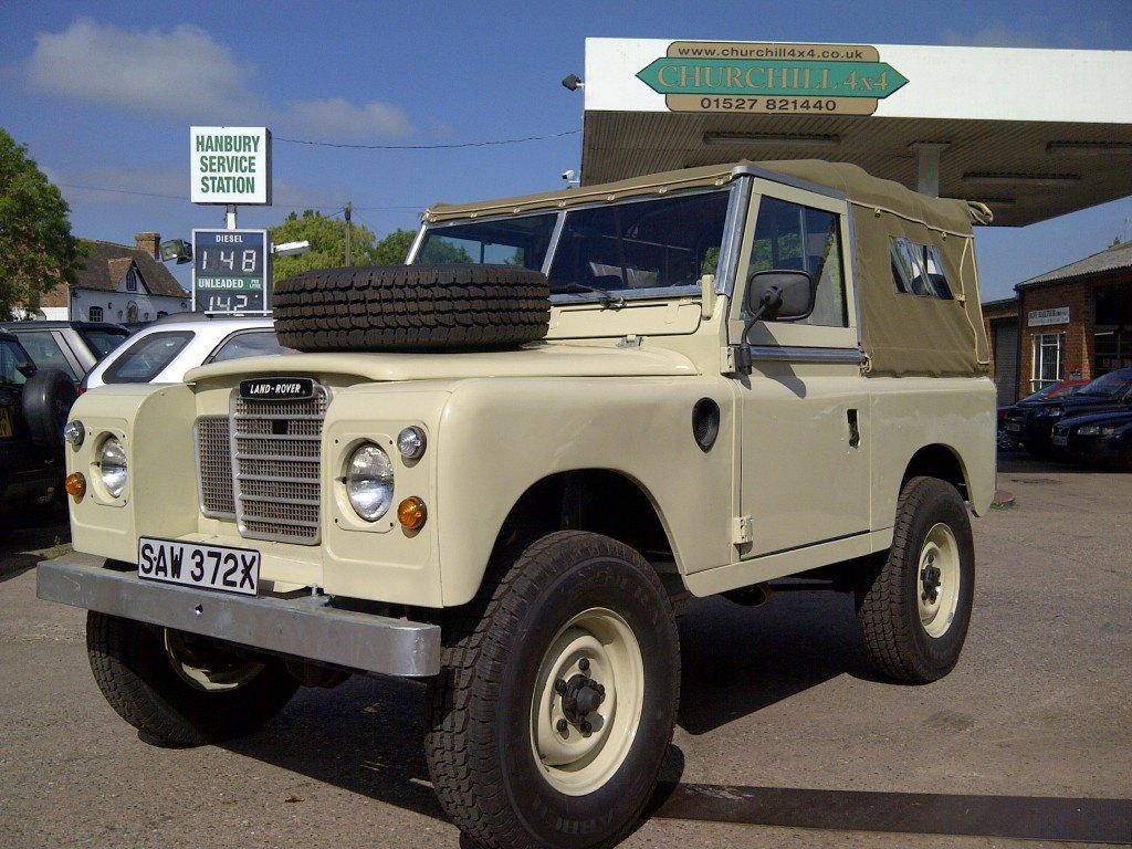 LAND ROVER RESTORATION IN HEREFORD