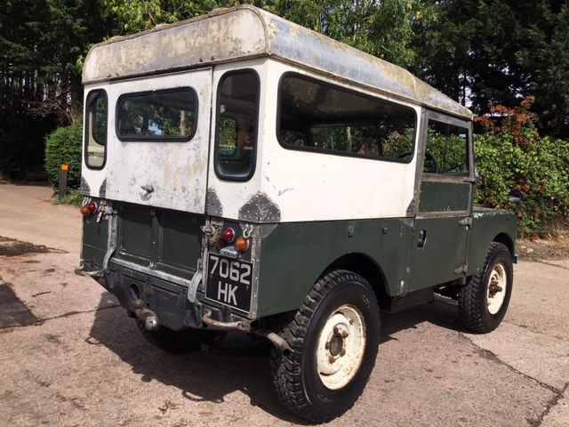 Land Rover Series 1 for sale rear side view