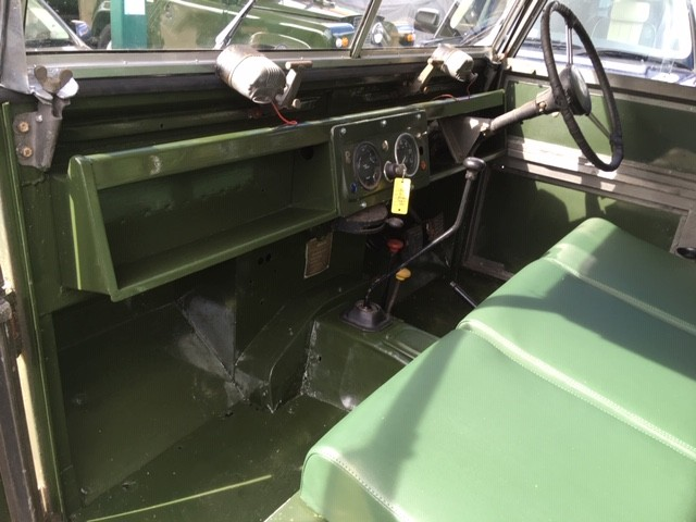"Land Rover Series 1 88"" front seats"