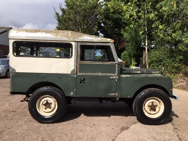 Land Rover Series 1 for sale interior