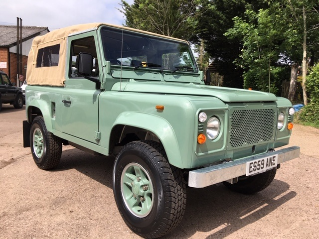 Land Rover 90 Soft Top restored