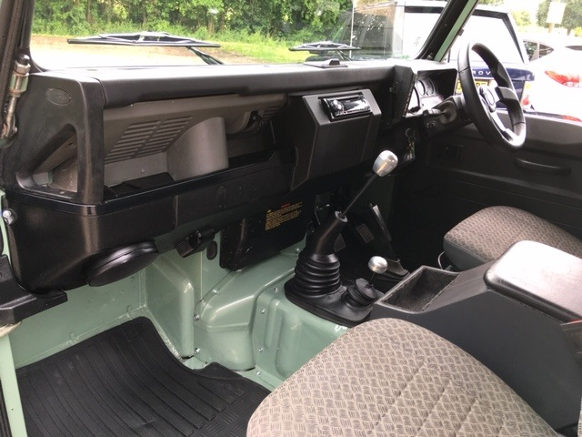 Land Rover 90 interior refurbished