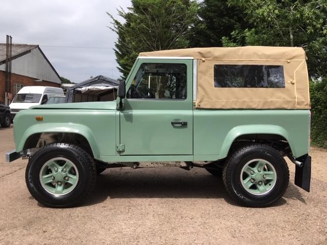 1988 Land Rover 90 2.5 petrol restored