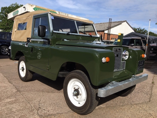 1963 Land Rover Series 2a restored