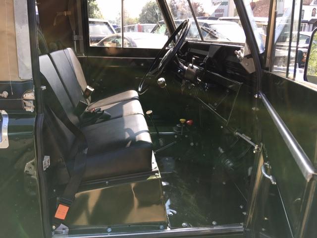 Land Rover Series 2a galvanised bulkhead restored