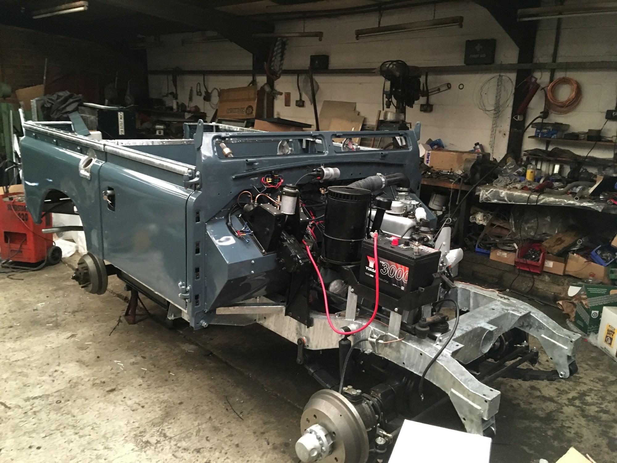 1962 Land Rover Series 2 restoration