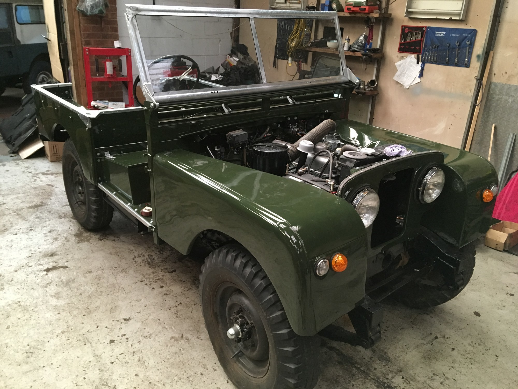 Land Rover Series 1 restoration nearly complete