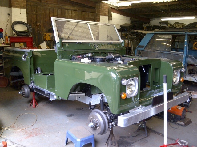 1983 Land Rover Series 3 SWB
