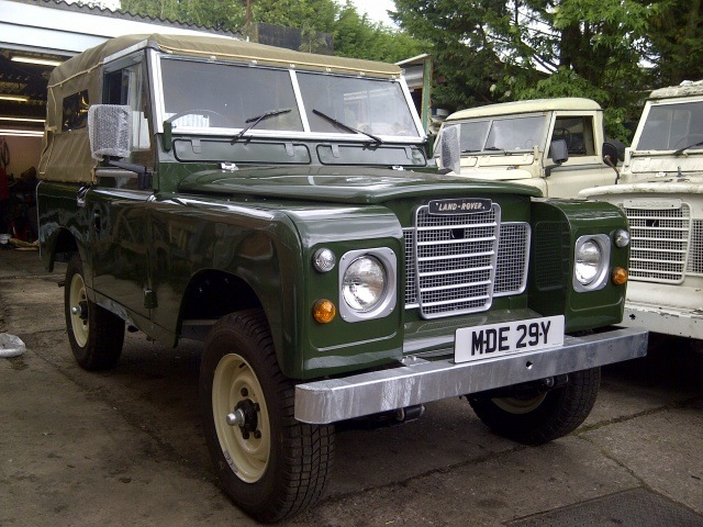 Restored 1983 Land Rover Series 3 SWB