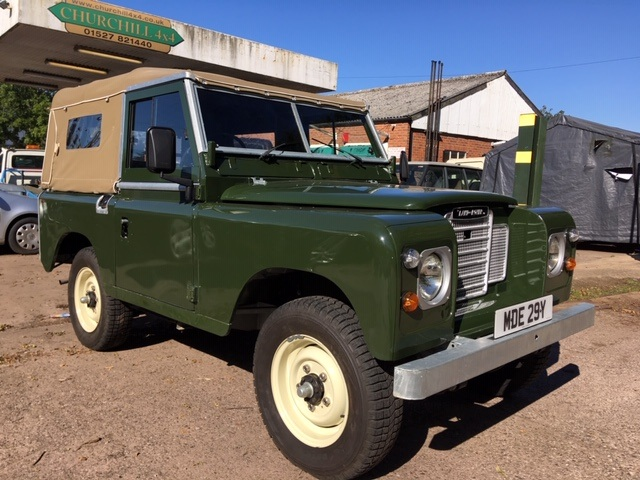Restored Land Rover Series 3 Soft Top