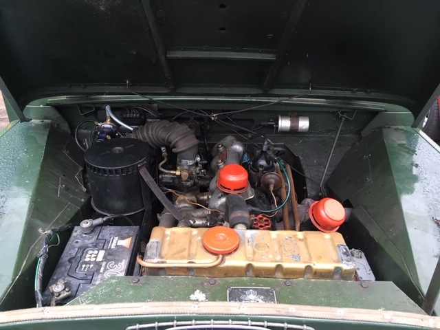 Series 1 for sale engine picture